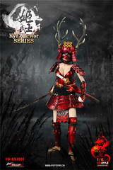 FIRE GIRL FG-KSJ001 Warring States of Japanese Warrior Armor Sanada xu Kyi - 04 (Lord Dragon 龍王爺) Tags: 16scale 12inscale onesixthscale actionfigure doll hot toys firegirl samurai