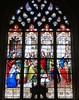 La Chapelle-sur-Loire, Indre-et-Loire (Marie-Hélène Cingal) Tags: chapellesurloire 37 indreetloire centrevaldeloire centre france baznīca église kirik iglesia church chiesa bažnyčia kirche kostol eliza vitrail