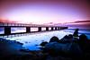 By the beach (Maria Eklind) Tags: öresund ribban bridge beach ribersborg sunset strand sweden himmel ocean brygga sunsetlight sky water malmö skånelän sverige se