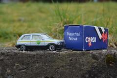 VX NOVA THE CAR BEFORE THE CORSA (RON1EEY) Tags: classiccars corgi ford fordtransit citroen renault bmw simca mercedes mercedesbenz bp petrol