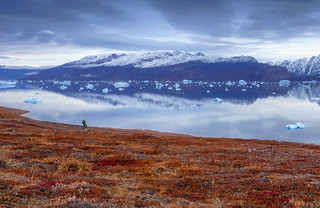Autumn in east Greenland