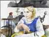 Инга в Хрониках (bogema) Tags: инга хроники некрасова санктпетербург акварель набросок портрет скетч бар bar cafe inga saintpetersburg khroniki