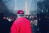 Vietnam Memorial (solas53) Tags: war memorial vietnam washington dc red black man people street candid