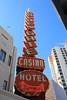Fremont Street, Las Vegas, Nevada (Mike Sirotin) Tags: architecturephotography cityscape travelphotography casino sincity hotel lasvegas nv goldengate freemontstreet city nevada sign architecture vegas cityphotography