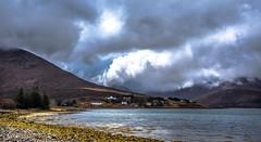 Skye light. (AlbOst) Tags: isleofskye skye luib lochainort sky skies clearingskies scottishlochs scottishscenery lochs