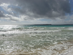 2017-04-24_08-33-16 Stormy Caribbean Beach (canavart) Tags: sxm stmartin stmaarten fwi orientbeach orientbay tropical ocean beach stormy storm clouds waves sand surf caribbean therebeastormabrewin