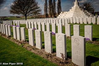 Tyne Cot WW1 Cemetery