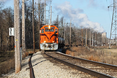 CSS 2002 @ Michigan City, IN (Michael Polk) Tags: chicago south shore bend railroad emd gp382 freight train indiana illinois 2002 2008