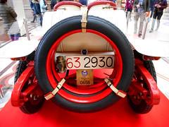 "Motorcar Lancia 20-30 HP Type 58 ""Epsilon"" Corsa (year 1912) - Exhibition at Alberto  Sordi (ex Colonna) arcade in Rome (Carlo Raso) Tags: motorcar lancia2030hptype58epsiloncorsa albertosordi colonna arcade rome"