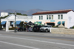 Santa Barbara (davidjamesbindon) Tags: america states united usa california barbara santa building street road town