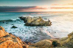 California Color (Kevin Dinkel) Tags: rock color purple long dinkel slow orange pastel california beach ocean kevin exposure photography yellow places sunset outdoor rocks blue waves warm beautiful outside summer landscape dinkelphoto water green seascape coast cliff pacific