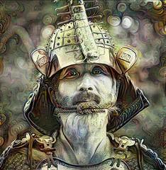 Samurai (cirooduber) Tags: ostagram visualart trollieexcellence awardtree deepdream digitalarttaiwan japan samurai