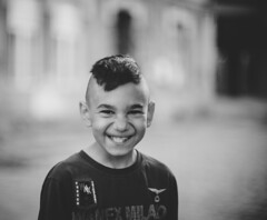 Smile makes miracles (Pavel Valchev) Tags: a7ii emount ilce ff rokkor mc 58mm 12 wideopen bokeh mf manual child quarter sofia bulgaria smile dof sony mirrorless minolta
