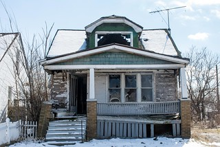 Abandoned Housing, Detroit, Michigan (in Explore)