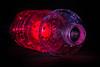 Space bottle (SonjaS.) Tags: macromondays botle flasche platic plastik kunststoff licht farben colors light macro makro 100mm canon wasserflasche pet waterbottle