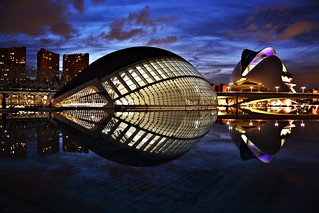 Valencia - City of Arts and Sciences During The Blue Hour