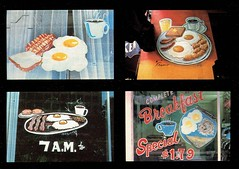 Breakfast Art of America (Guy Clinch) Tags: postcard oldsign