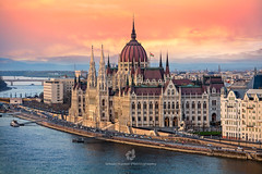 The Parliament of Hungary, Budapest (fesign) Tags: architecture bank budapest buildingexterior capitalcities city cityscape cloudysky dusk easterneurope europe government horizontal humaninterest hungarianparliamentbuilding hungary old országház outdoor parliamentbuilding pestcounty river riverdanube sideview sunset tourism traditionallyhungarian travel traveldestinations vacation waterfront