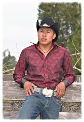 Vaquero (scottyshot) Tags: mexican mexicano latino native american indian indigena man hombre male model modelo masculino handsome sexy cowboy vaquero