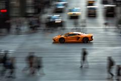 Lamborghini Aventador - Chicago, IL (garyhebding) Tags: lamborghini aventador lambo pan panning car automotive chicago downtownchicago supercar exotic exoticcar v12