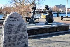 The Homecoming (Mariko Ishikawa) Tags: canada britishcolumbia victoria publicart statue history innerharbour