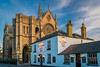 Arundel Cathedral (Trevor Fryer) Tags: architecture arundel cathedral d3300 pub stmarysgate sunset sussex