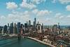 Manhattan Bridge NYC Skyline (Bestpicko) Tags: nyc new york city usa america skyscrapers towers buildings