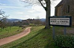 The entrance of the castle (Chemose) Tags: bourgogne burgundy southburgundy bourgognedusud berzélechâtel mâconnais château castle médiéval medieval paysage landscape france sony ilce7m2 alpha7ii mars march winter hiver