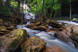 Incoming stream @ Ohiopyle state park