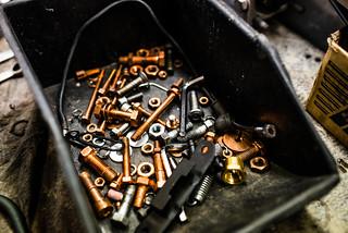 Colorful screws