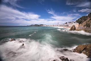 Lloret y el Mediterraneo _XT25767
