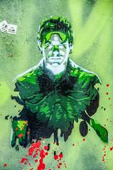 Corrosive (Tony Shertila) Tags: europe britain england merseyside liverpool balticmarket door painting art portrait green unitedkingdom gbr