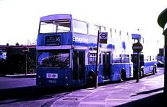 Slide 116-58 (Steve Guess) Tags: dms daimler fleetline ensign ensignbus lrt london regional transport essex barking dagenham redbridge route145 kjd500p dms500