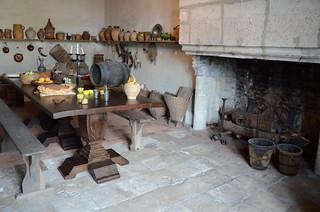 Musée du château, la cuisine