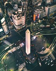 Obelisco de Buenos Aires (deensel) Tags: drone dji mavic mavicpro aerial aerialphotography cityscape buenos aires argentina