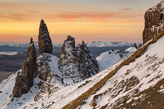 Old Man of Storr, Isle of Skye, Scotland (MelvinNicholsonPhotography) Tags: oldmanofstorr storr isleofskye skye winter sunrise ice rock scotland trotternish hebrides highland