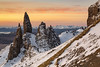 Old Man of Storr, Isle of Skye, Scotland (MelvinNicholsonPhotography) Tags: oldmanofstorr storr isleofskye skye winter sunrise ice rock scotland trotternish hebrides highland