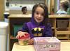 Luna Day 1625 (evaxebra) Tags: luna batgirl bat fruit purple breakfast morning school class room classroom lunchbox peppa pig