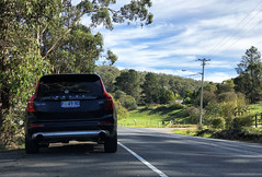 Volvo XC90 (AUS477) Tags: volvo xc90 volvoxc90 car vehicle tasmania margate road sky rural