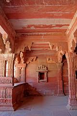 Fatehpur Sikri - (61) (Rubén Hoya) Tags: fatehpur sikri templo palacio capital imperial rajasthan india