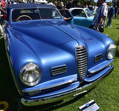 1949 Alfa Romeo 6C 2500 SS Cabriolet (D70) Tags: nikon d750 20mm f28 ƒ90 200mm 1320 100 1949 alfa romeo 6c 2500 ss 2443 cc 1491 cu in dohc i6 110 bhp 82 kw 4800 rpm double carburetor 165 kmh 103 mph 1947–1951 413 coupés lajolla concoursdelegance 2018 village sandiego california cabriolet class 8 – italian sports cars winner