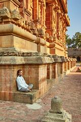 Meditative Spot (Doug.King) Tags: temple architecture india tamilnadu brihadisvara thanjavur greatlivingcholatemples worldheritagesite unesco worldheritagesites