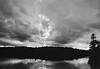 Menacing Skies (george.bremer) Tags: caffenol caffenolcl canada clouds ei1600 epson film kodak lake margaretlake olympus om2n pushprocessing reflection scan shadows summer trees trix v750 water