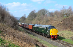 40106. (curly42) Tags: 40106 class40 englishelectric preserveddieselloco elr 40sat60 whistler