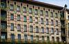 Majolikahaus, Vienna (Tiigra) Tags: wien austria at 2017 architecture artnouveau balcony city fence lattice mural ornament repetition tiles vienna window pattern