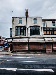 Blackpool (efsb) Tags: blackpool lancashire streetphotography fujixq2 decay offseason seaside holidayresort workingclass blackpooltower