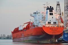 Bow Star (Hugo Sluimer) Tags: portofrotterdam port haven nlrtm zuidholland nederland holland onzehaven