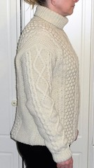 Women in rollneck aran knitwear (Mytwist) Tags: nick22s prison jail profile unwanted sexy woman aranstyle irish aran handgestrickt rollneck rollkragen retro timeless fisherman ivory design exclusive donegal knitwear outfit style fuzzy authentic craft wool dress passion classic cozy cabled female dublin
