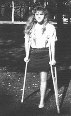 vicki1 (jackcast2015) Tags: handicapped disabledwoman crippledwoman crutches amputee sakamputee sakamputation sak