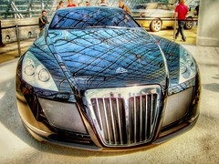 Maybach Exelero (Ozan) Tags: auto reflection car interestingness voiture explore chrome hdr chrom araba maybach yansma ozan  exelero photomatix  otomobil club300  last7days ozandanman